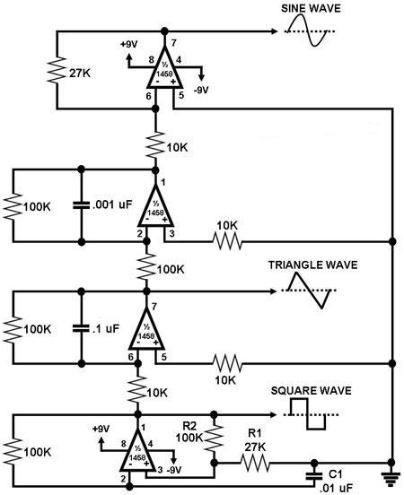 a simple function generator supreem circuits diagram and projects rh supreemcircuits blogspot com simple signal generator circuit diagram simple signal generator circuit diagram
