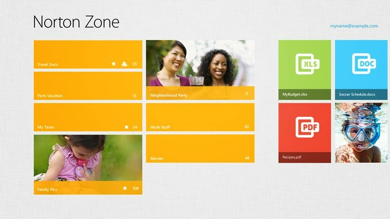 Norton Zone - Windows 8