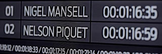Ford Fusion 2013 - Piquet x Mansell - Tempos de treino