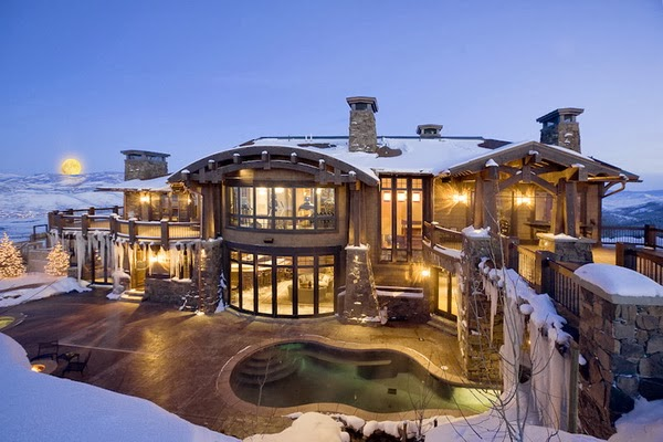 Luxury life design 21 9 million for amazing mountain home for Design hotel utah