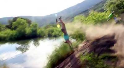 ジャンプ失敗