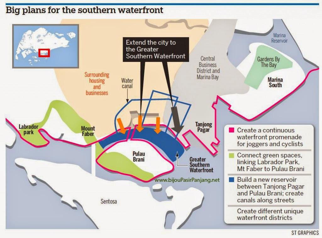 Bijou @ Pasir Panjang southern waterfron masterplan