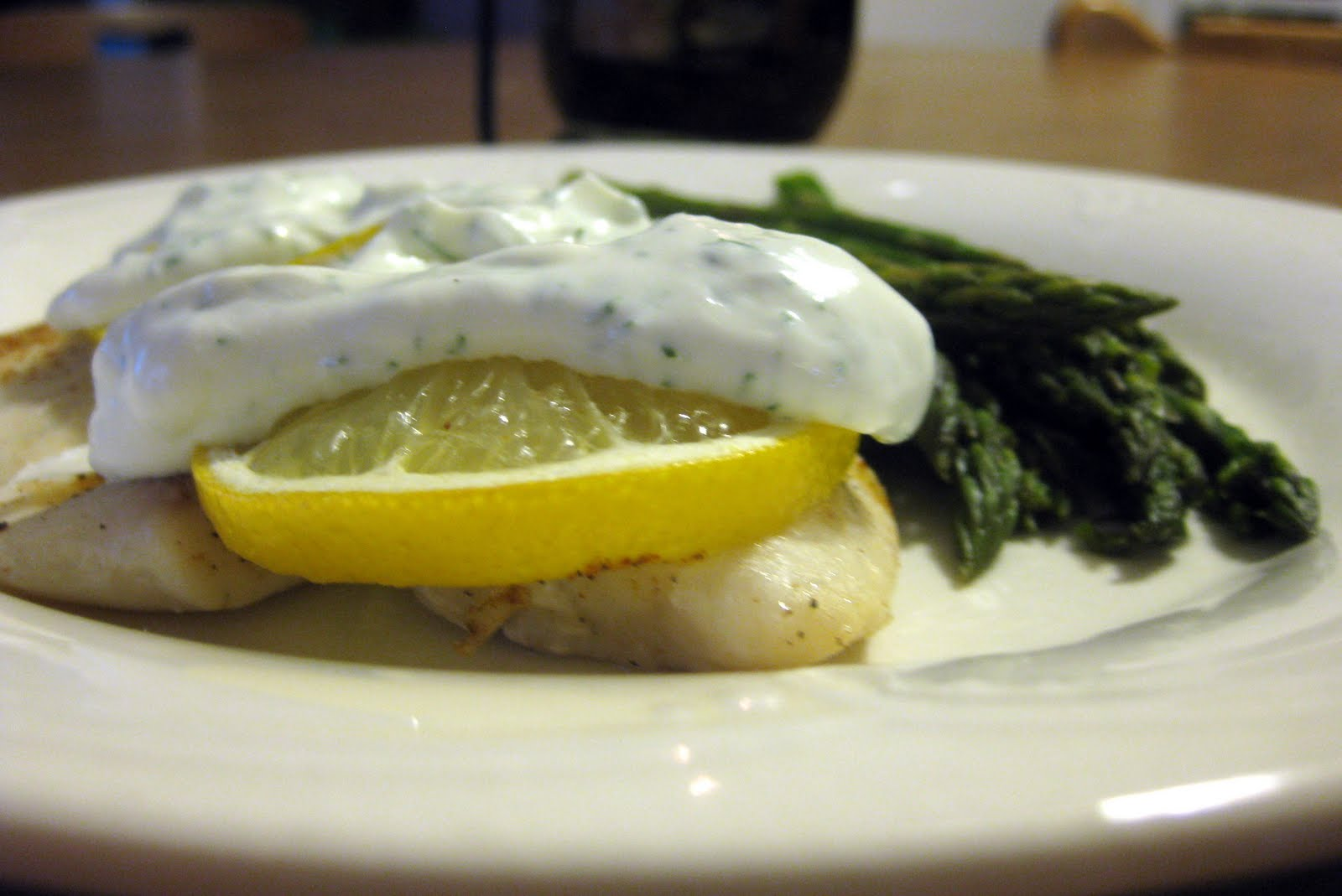Domestic diva days best tilapia recipe ever for Dill sauce for fish