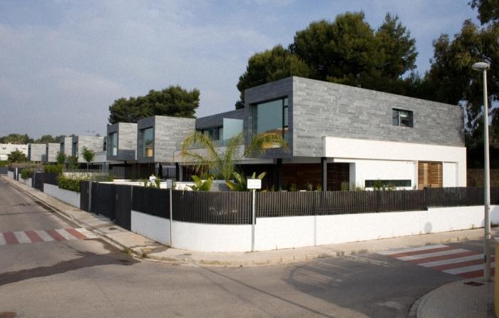 Diseño de interiores & arquitectura: 6 viviendas pareadas unidas ...