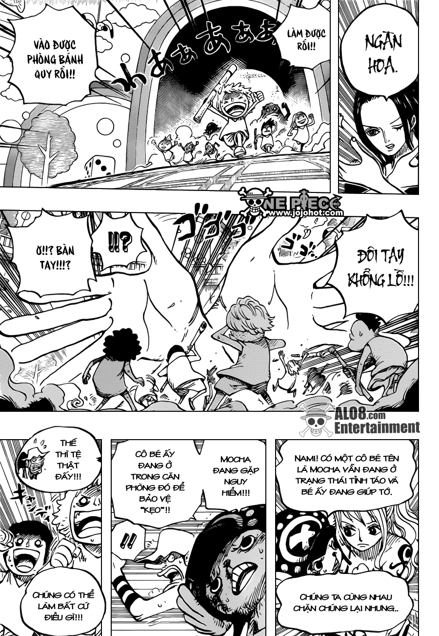 One Piece Chapter 683: Băng nữ 011