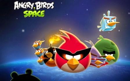 Andgry Birds Space update v2.0, hadirkan 50 level baru