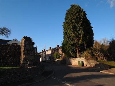 Puerta Este de Venta Silurum (Caerwent - Gales)