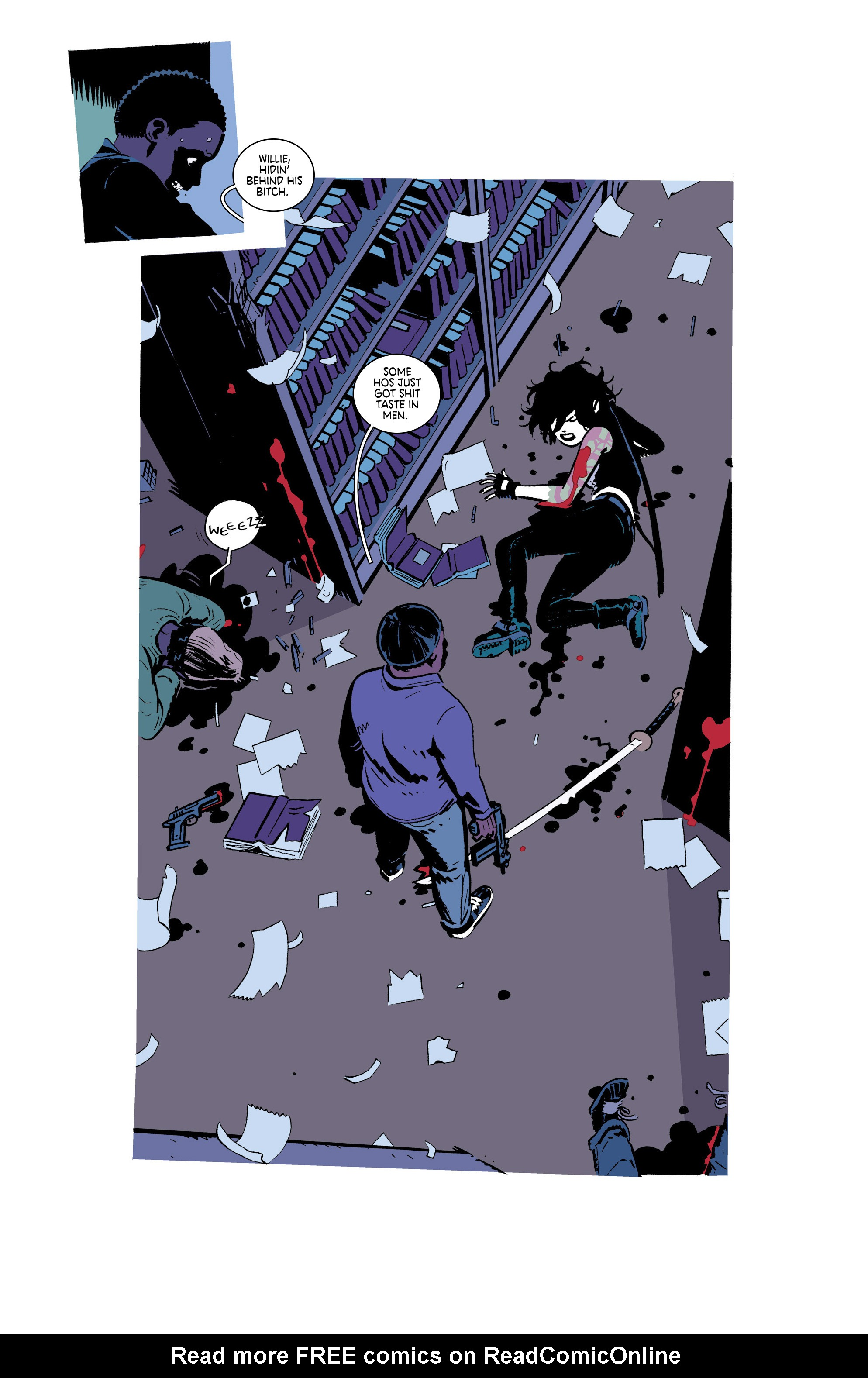 Read online Deadly Class comic -  Issue #18 - 18