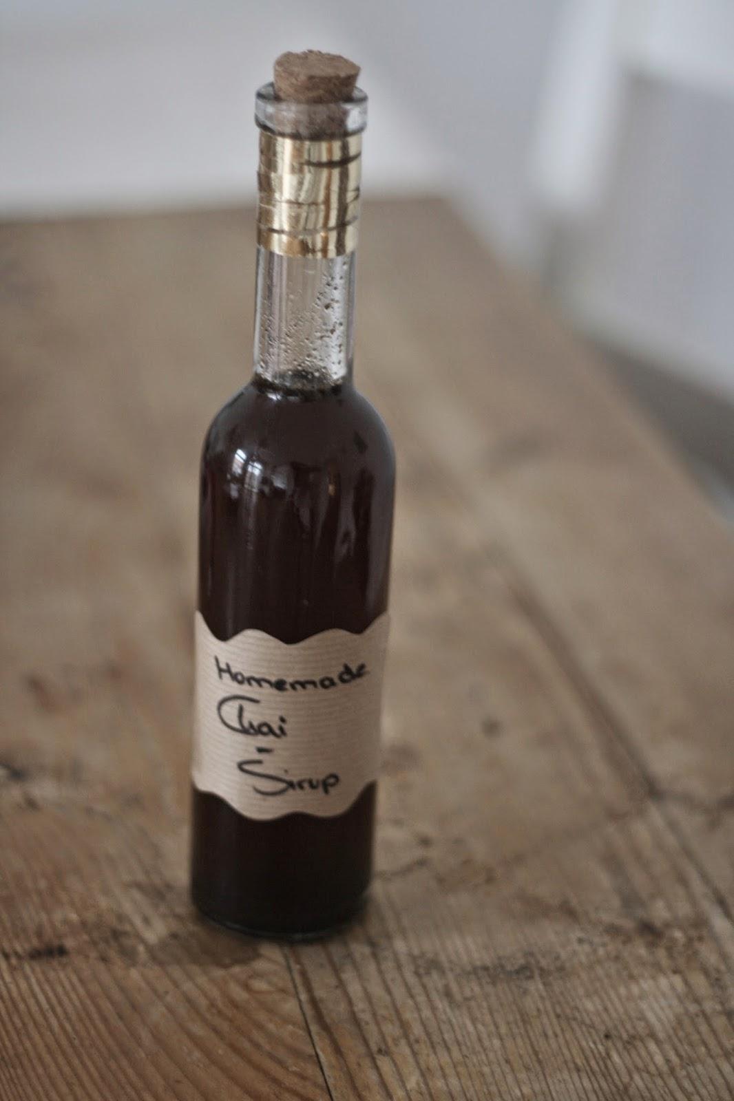 Fleur et Fatale zeigt Rezept für Chai Sirup