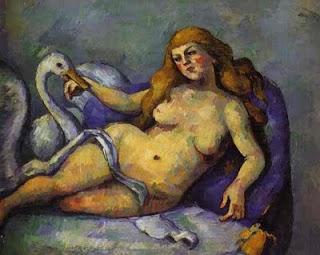 Cézanne's Leda with Swan