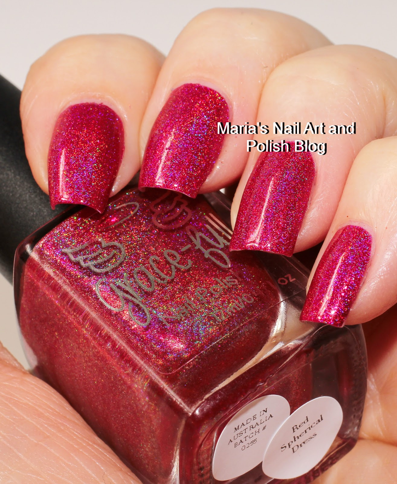 Marias Nail Art And Polish Blog: Grace-full Nail Polish