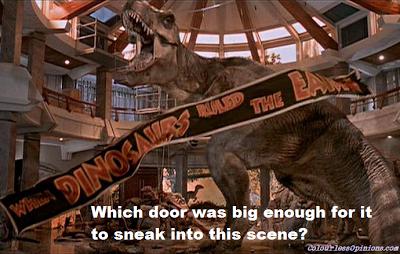 Jurassic Park tyrannosarus rex meme