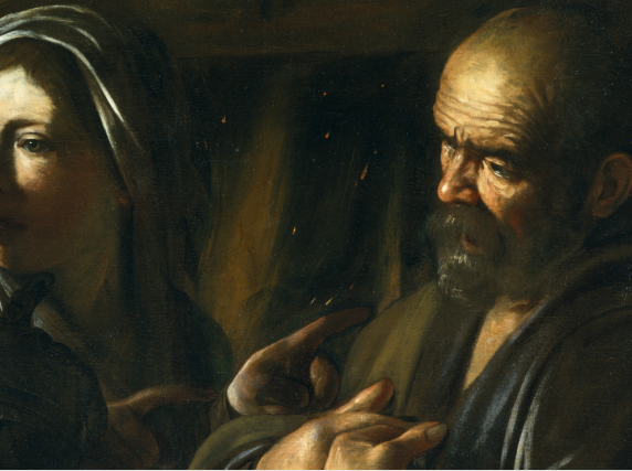 idle speculations  the denial of st peter