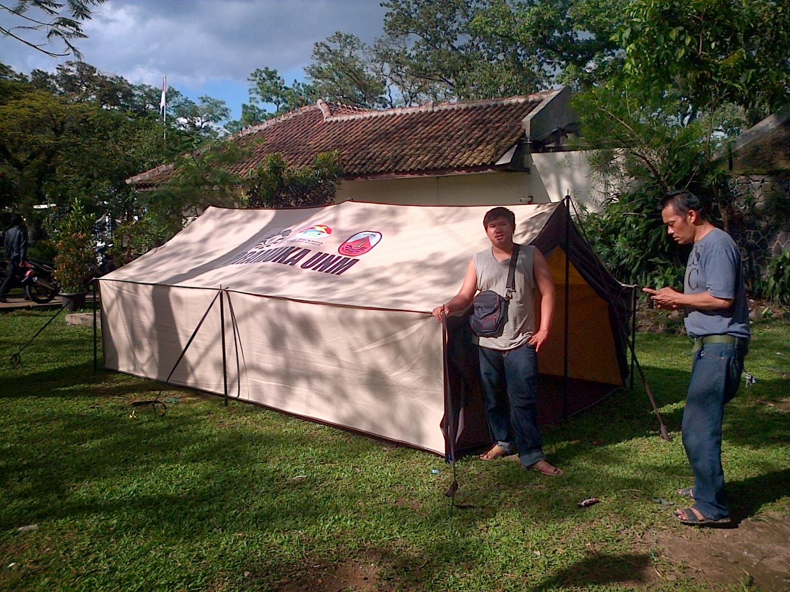 Tenda Pramuka Tas Kap 4 5 6 Pabrik
