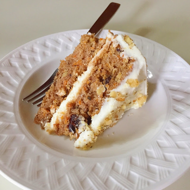 carrot cake, project soiree, mother's day, recipe, dessert