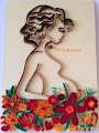 Quilled pregnant girl