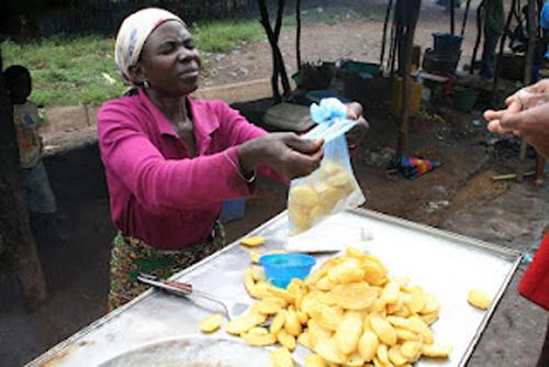 Vendedeira de Batatas