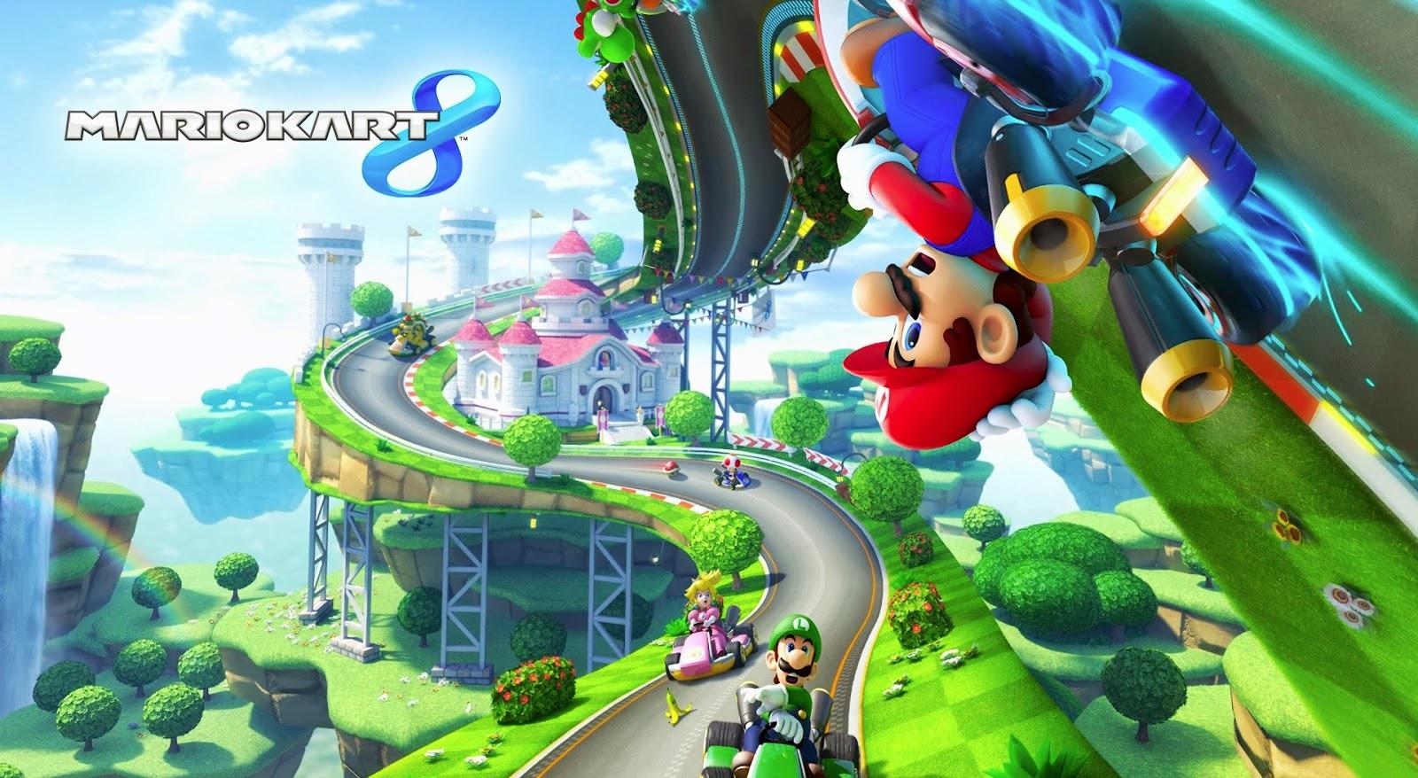 Wii U Mario Kart 8 Images Stills