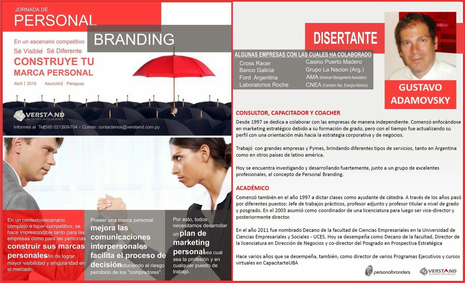 personal branding paraguay