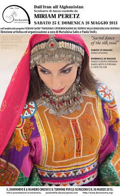 Danza iraniana e Danze della Via della Seta