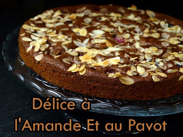 Recette Gâteau à l'amande et au pavot