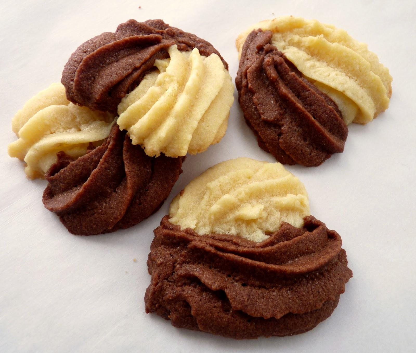pastry studio: Vanilla & Spiced Chocolate Cookies