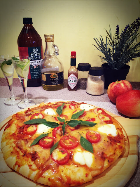 潮Pizza就在高雄美食伊凡的花園