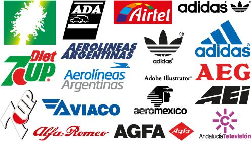 """Logos y marcas comerciales con la letra """"A"""" - 2"""