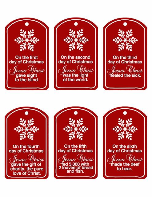 httpfamily home funblogspotcom201112christ centered 12 days of christmashtml - 12 Days Of Christmas Ideas