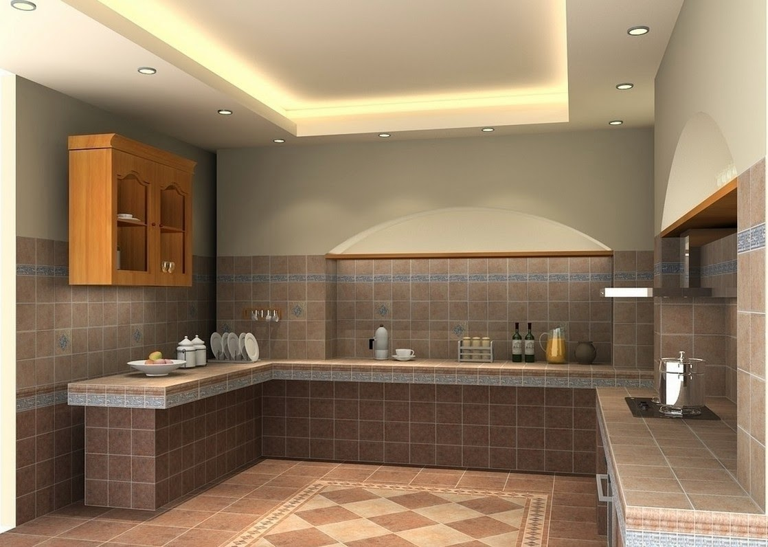 keramik dapur cantik