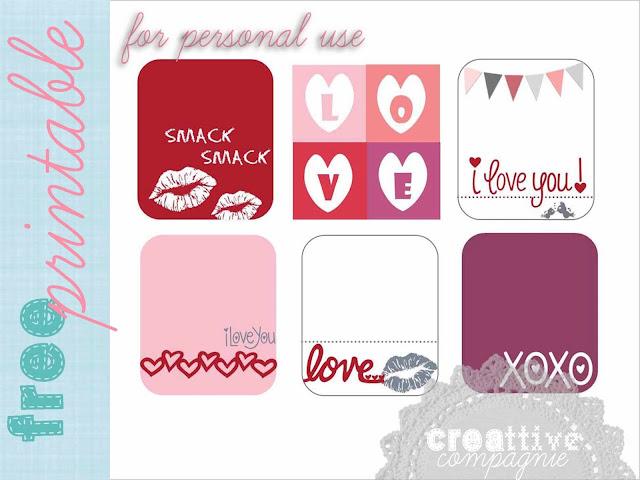 Un regalino per voi: scaricate le tag per un dolce pensierino per San Valentino!  cliccate sull'immagine