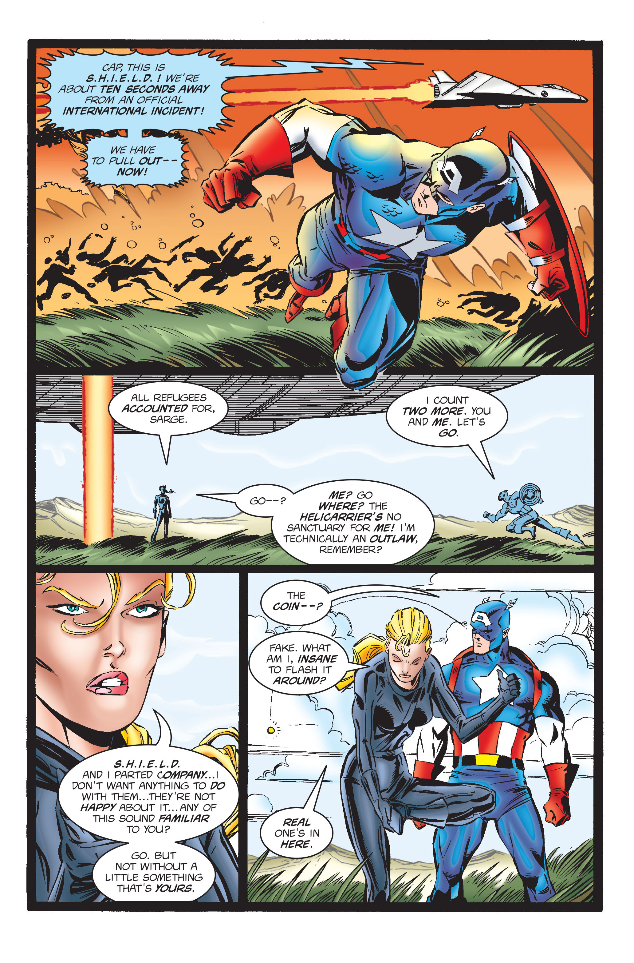 Captain America (1968) Issue #454 #411 - English 19