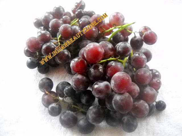 Grapes in beauty care