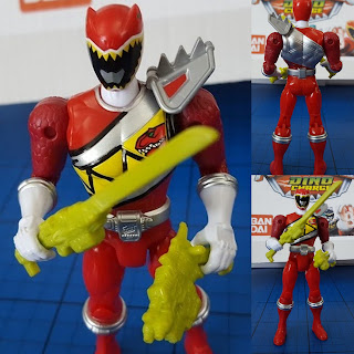 Power Rangers Dino Charge red ranger review