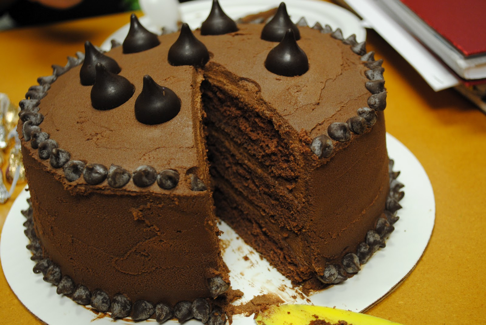 designed by diana chocolate cake