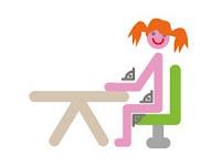 Egészséges íróasztal