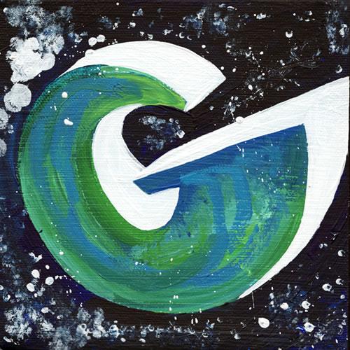 Graffiti Letter G Design