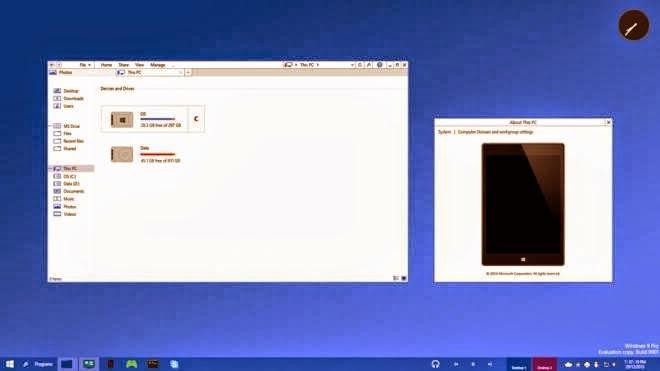 كيف سيكون ويندوز 9 من مايكروسوفت