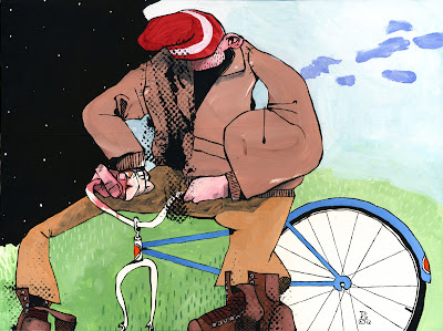 Want to ride my bicycle drunk russian on youtube