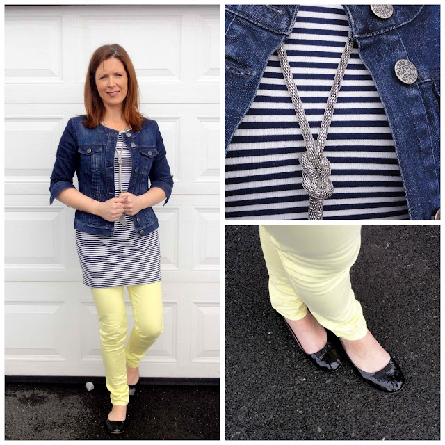 BWD1+Collage Yellow Jeans from Black White Denim   6 Different Ways