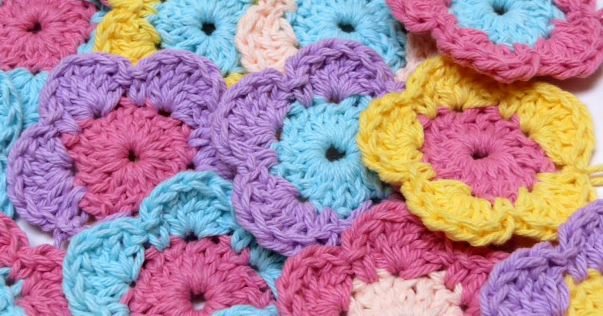 Ambrosias Creations: Pattern: Simple Crochet Flowers