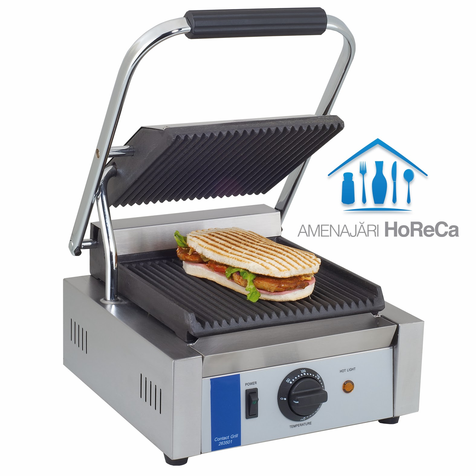 grill electric, model simplu, baza fonta, pret grill electric