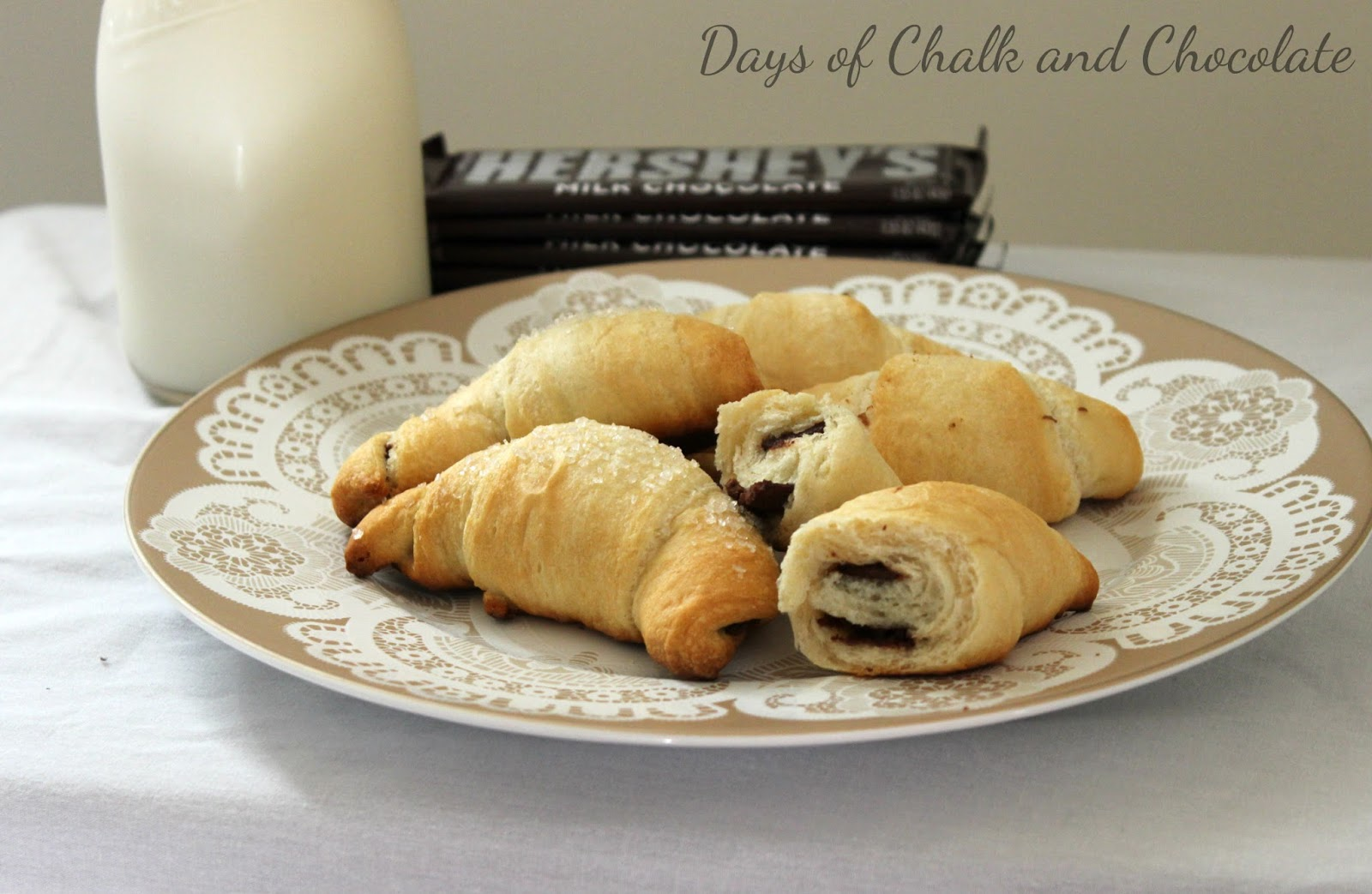 Easy Chocolate Croissants Done Two Ways | Days of Chalk and Chocolate