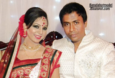 Sadia Jahan Porva with shanto wedding photo