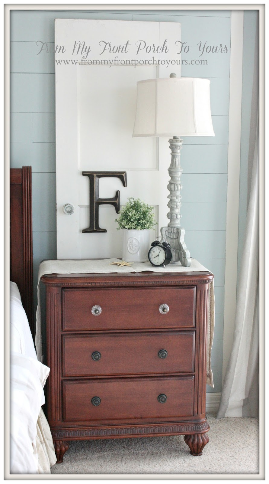 From My Front Porch To Yours- Inexpensive Details- Hobby Lobby Glass Knobs