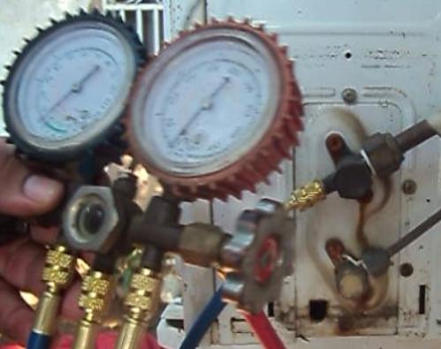Como medir el gas refrigerante