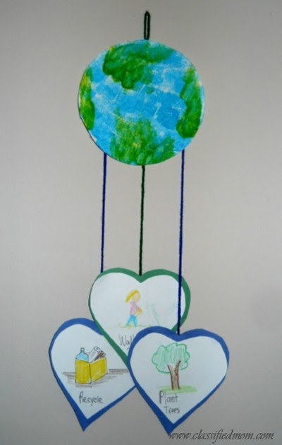 earth day art projects preschool preschool crafts for earth day mobile craft 852