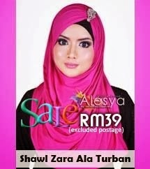 Zara Turban shawl