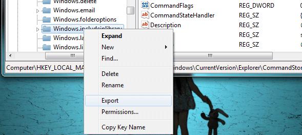 Cara Menghapus dan Me-Rename Tombol Command Bar Pada Windows Explorer