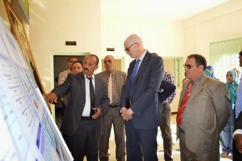 نيابة الرشيدية تستقبل سفير الاتحاد الاوروبي بالمغرب